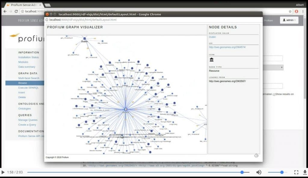 Profium Sense Graph Visualizer DEMO video