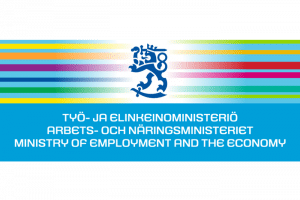 TEM logo Työ- ja elinkeinoministeriö - The The Finnish Ministry of Labour and the Economy