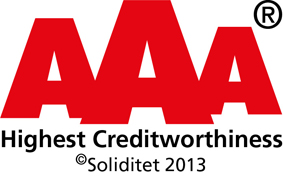Profium credit rating AAA, solvency, financial ratio, excellence